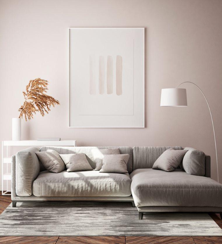 Dywan Canvas warm gray
