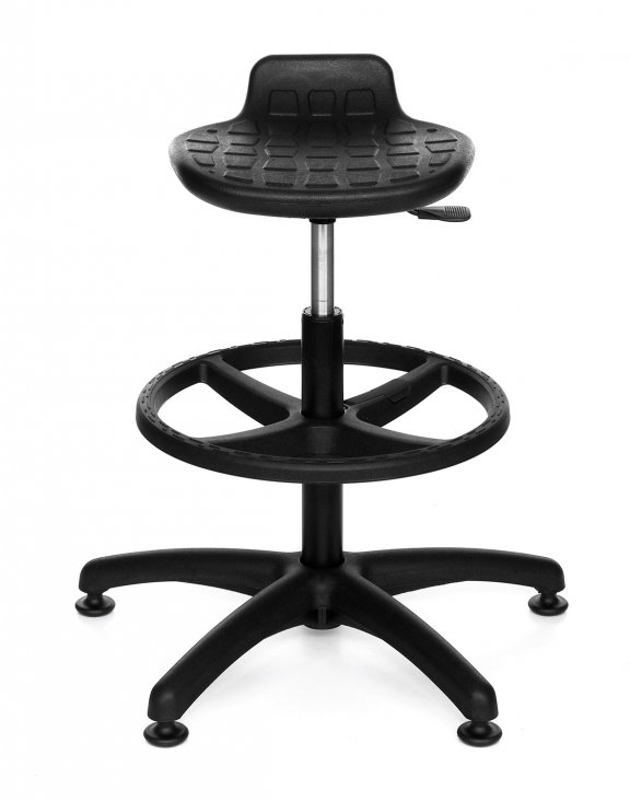 Krzesło Lab Stool Ring Base