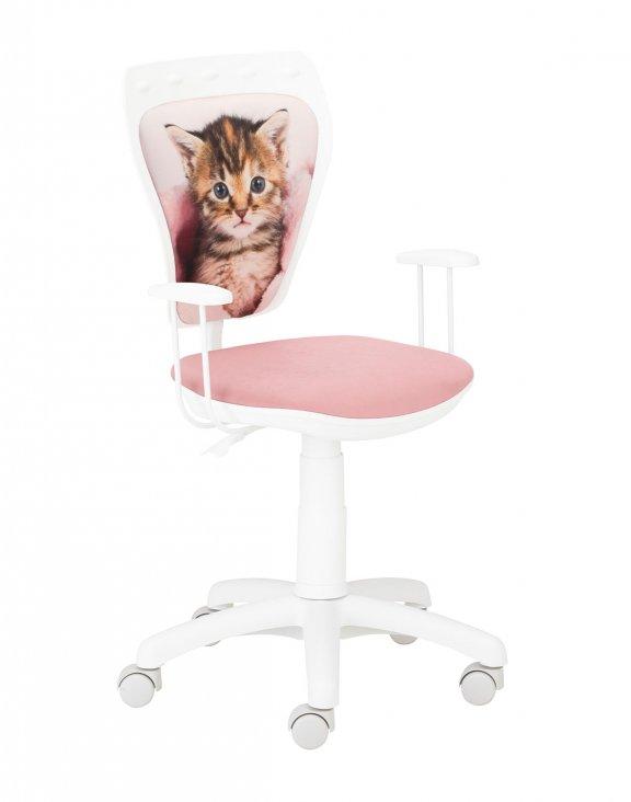 Krzesło Ministyle White Kotek w kocu