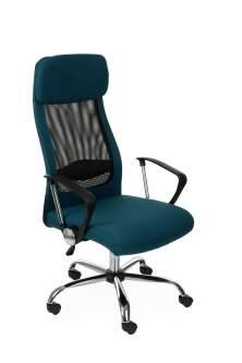 Oferta specjalna Fotel Alex niebieski - OUTLET