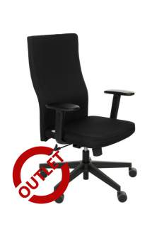Krzesło Team PLUS black K01 - OUTLET