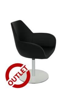 Fotel Fan 10R - JEDNA SZTUKA, skóra naturalna