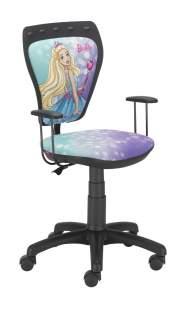 Krzesło Ministyle Black Barbie 4