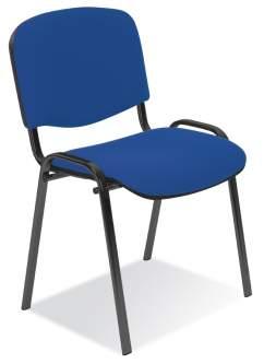 Krzesło Iso black - wysyłka 24 h