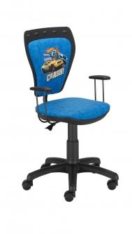 Krzesło Ministyle Black Hot Wheels 1