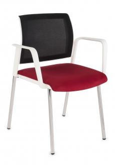 Krzesło Set Net Arm White