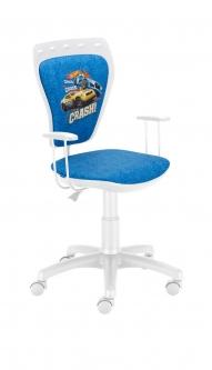 Krzesło Ministyle White Hot Wheels 1