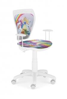 Krzesło Ministyle White Barbie 2