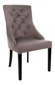 Krzesło Cristal z kryształkami