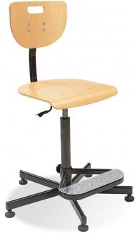 Krzesło Werek steel Foot Base