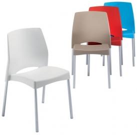 Krzesło El Sol aluminium